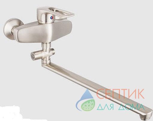Смеситель для ванной EDENY E15204 никель