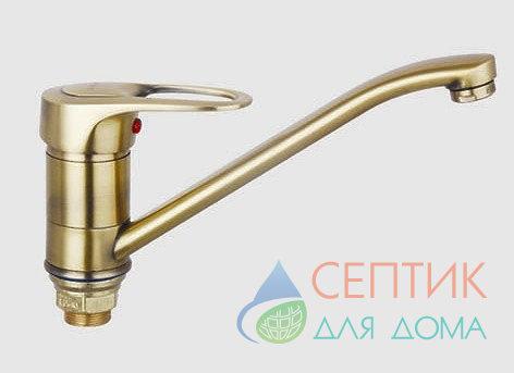 Смеситель для кухни,  бронза.EDENY E15309-1