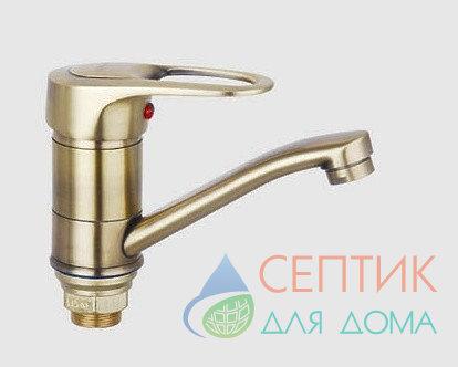 Смеситель для раковины, бронза.EDENY E15301C
