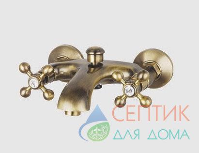 Смеситель для ванны, латунный. бронза EDENY E1503С