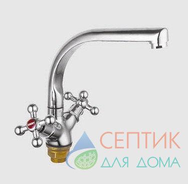 Смеситель для кухни вентильный.латунный EDENY E3603F