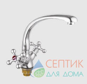 Смеситель для кухни вентильный, латунь EDENY E3603А-315