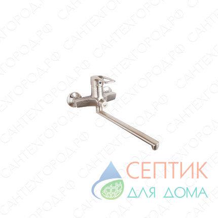 Смеситель для ванной EDENY E15204А никель