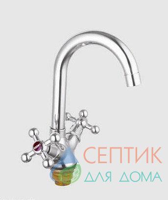 Смеситель для кухни вентильный.латунный EDENY E3603D