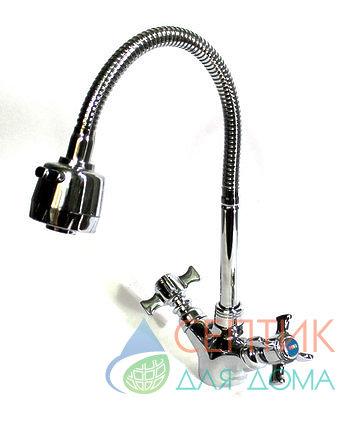 Смеситель для кухни с гибким изливом  EDENY E1302