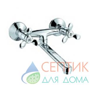 Смеситель для кухни настенный нижний излив DoKorona DK-2802