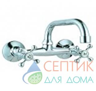 Смеситель для кухни настенный верхний излив DoKorona DK-2800