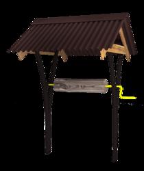 Крыша для колодезного домика